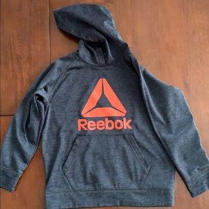 Reebok Boys XS hooded sweatshirt